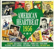 AMERICAN HEARTBEAT 1956 - 2 CD BOX SET - CHUCK BERRY & MORE