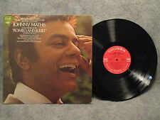 33 RPM LP Record Johnny Mathis Love Theme From Romeo & Juliet Columbia CS 9909