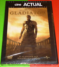 EL GLADIADOR / GLADIATOR English Español Italiano DVD R2 Precintada