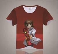 High School DxD Cosplay Anime Manga T-Shirt shirt Muskelshirt Polyester