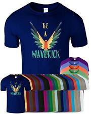 Be A Maverick Mens Womens T Shirt Logan Paul Bird Savage Youtuber Top Tee TShirt
