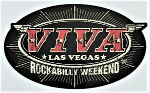 Wings & Stars STICKER Decal Viva Las Vegas 22 Rockabilly Weekend Vince Ray