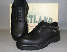 NEW Women's Eastland Plainview Black Leather Lace Up Oxfords