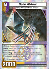 Kaijudo 1X SPIRE WIDOW Super Rare 2/3 11BBR Booster Brawl DUEL MASTERS 2014