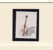 timbre France préoblitéré  musique  guitare  n° 213a   dentelé 12 **