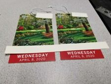 2 MASTERS Augusta 2020 Ticket WEDNESDAY 11/11 Badge Full Day IN HAND