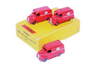 DINKY TOYS  ESSO TROJAN DELIVERY VAN TRADE BOX CONTAINING THREE MODELS #31A