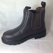 "Unbranded Women's 100% Leather Flat (less than 0.5"") Boots"