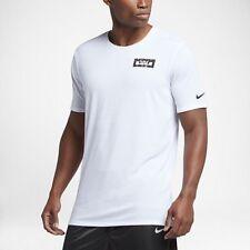 Nike Dry LeBron Lion Stripe White T-shirt Men's Extra Large Dri-Fit Tee