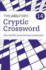 Times Cryptic Crossword Book 14, , Very Good Book