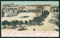 Firenze Città Porta San Gallo PIEGA cartolina XB2474