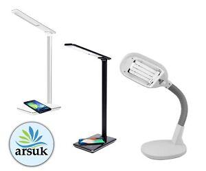 Desk Lamp Reading Table Bedside Flexible Daylight Energy Saving 27W Bright Light