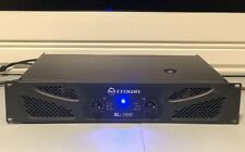 Crown Pro Audio Xli2500 1500W Power Amplifier & Monster Xp Precision Spkr. Cable