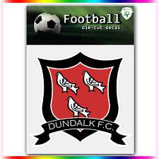 "Dundalk FC UEFA Die Cut Vinyl Sticker Car Bumper Window 4""x4"""
