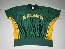 NWT VINTAGE LELAND HIGH SCHOOL BASKETBALL SHOOTING JERSEY SHIRT SIZE 44