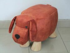 Tierhocker Tier Motiv Hund Spielzeug Stuhl Hocker Maße: 53,5 x 25,5 x 31 cm