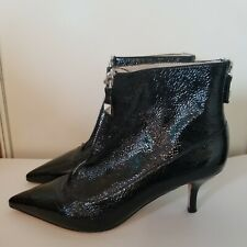 Michael kors Black Booties Sz 6.5 Patent Leather worn once for a short time