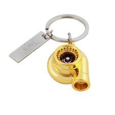 Matt  JDM Metallic Turbo Charger Bearing Spinning Turbine Key Chain Ring