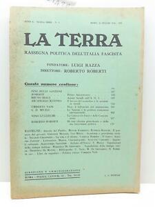 Rivista La terra rassegna politica dell'Italia fascista numero 3 1936