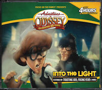 NEW Into the Light #47 Adventures in Odyssey 4 Audio CD Vol Set Focus on Family