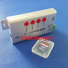 T-1000B SD Card LED Controller Support Chip WS2801 WS2811 LPD6803 TM1809 LPD8806
