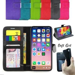 iPhone 11 Pro Max XS XR X 6 S 7 8 Plus Flip Wallet Leather Case Cover Apple