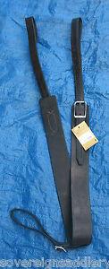 "Black Harness Leather Western Flank Girth 40"""
