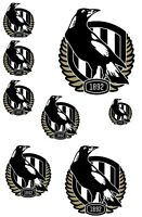 Stickers - AFL Collingwood Magpies (M1) Sticker Set