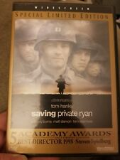 Saving Private Ryan (Dvd, 1999, Special Limited Edition) mint disc & insert