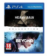 Heavy Rain & Beyond: Two Souls  PS4 NEW SEALED DISPATCH BY 2PM