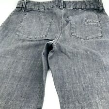 Attention Jeans Size 10 Flare Grey  Denim Wash Womans
