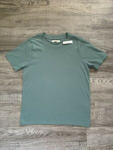 NWT Madewell Women's Supima Cotton Essential Tee, Sage Green - Size XS