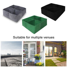 Planting Grow Bag Fabric Raised Bed Garden Planter Elevated Vegetable Box