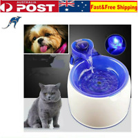 3L Automatic Pet Water Fountain Electric Feeder Dispenser Dog/Cat Drinking Bowl