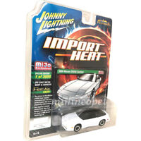 JOHNNY LIGHTNING JLCP7128 1990 NISSAN 240 SX CUSTOM 1/64 WHITE with BLACK ROOF