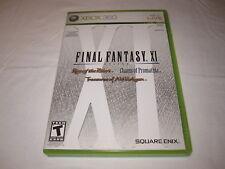 Final Fantasy XI Online (Microsoft Xbox 360) Original Release Complete Excellent