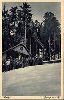 Oberhof Thüringen Thüringer Wald ~1920/30 Skisprung Ski Wintersport Sport Schnee