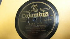 "HAROLD RIEDER COLUMBIA 78 RPM RECORD 858 MARY LOU ""ORGAN"""