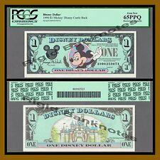 "Disney 1 Dollar, 1990 ""AA"" Series Mickey DisneyLand PCGS 65 PPQ"