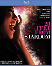 20 FEET FROM STARDOM BRUCE SPRINGSTEEN MICK JAGGER STING NEW MUSIC BLU RAY