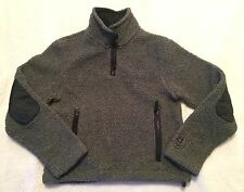Womens American Eagle Outfitters Gray Size M- Half Zip jacket EUC