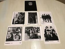 """Lot Of 6 Promo """"The Beatles"""" 8X10 B&W """"Reel Music"""" Movie Capitol Records Photos"""