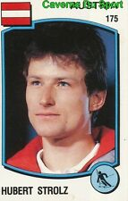 175 HUBERT STROLZ OSTERREICH SKI STICKER SUPERSPORT 1988 PANINI RARE & NEW
