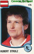 175 HUBERT STROLZ OSTERREICH SKI STICKER SUPERSPORT 1988 PANINI RARE & NEW