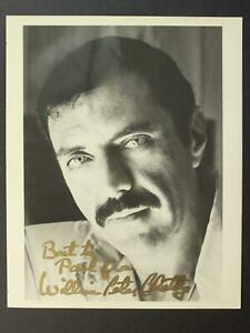 THE EXORCIST NOVEL AUTHOR WILLAIM PETER BLATTY (1928-2017) AUTOGRAPH 8x10 PHOTO