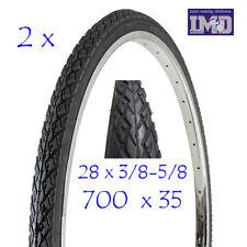 2 Copertoni 28 - 5/8 3/8  da CITY BIKE 700 x 35 per bicicletta pneumatico bici