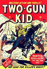 TWO-GUN KID #1-136 ON DVD FULL RUN 1948-1977 VINTAGE US WESTERN COMICS COWBOY