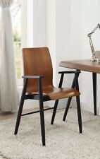 Jual Furnishings PC612 Vienna Walnut & Black Retro Vintage Design Office Chair