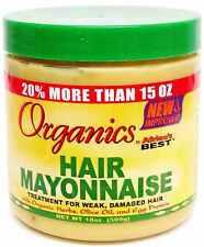 el mejor orgánicos Cabello Mayonesa Tratamiento para Débiles, dañado g 426