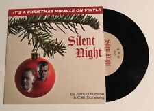 """NEW & UNPLAYED Joshua Homme-Silent Night 7"""" BLACK Vinyl Queens of the Stone Age"""